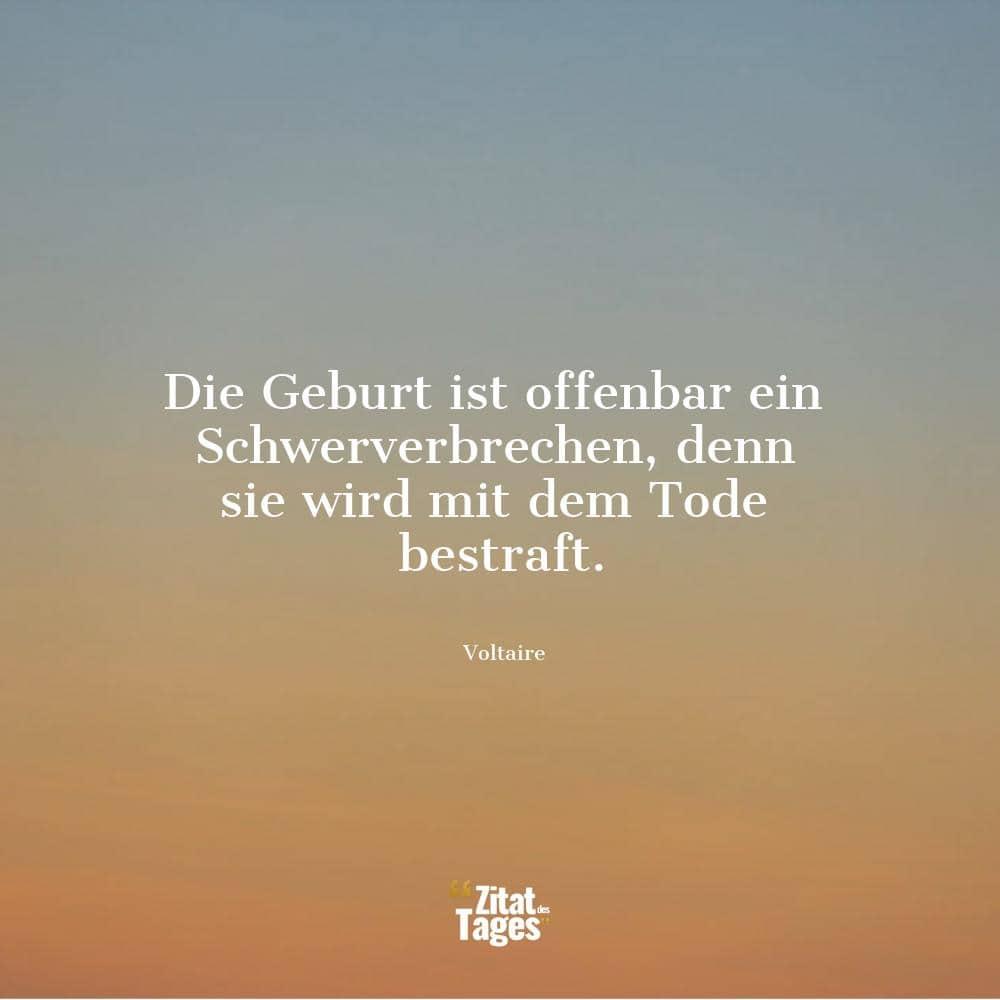 Voltaire Zitate Und Sprüche Zitat Des Tages