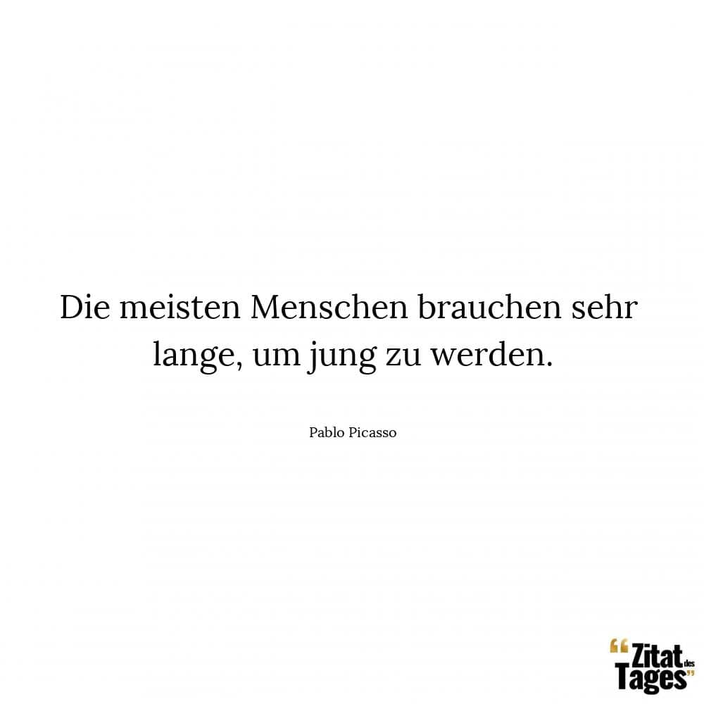 Sehr jung