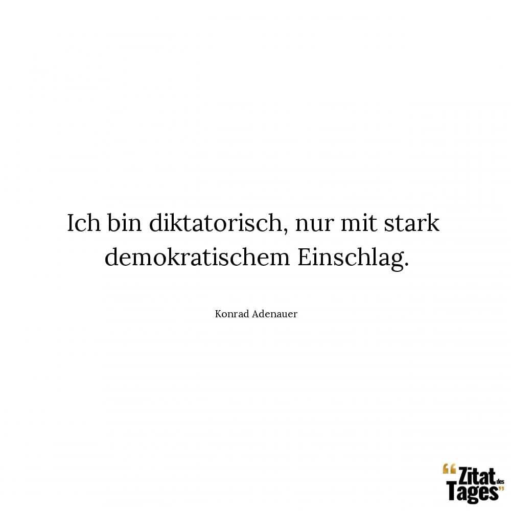 Konrad Adenauer Zitate Und Sprüche Zitat Des Tages