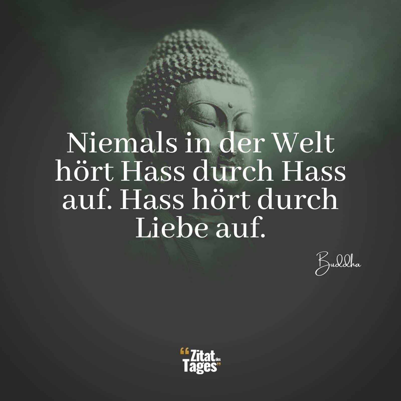 Niemals In Der Welt Hört Hass Durch Hass Auf Hass Hört