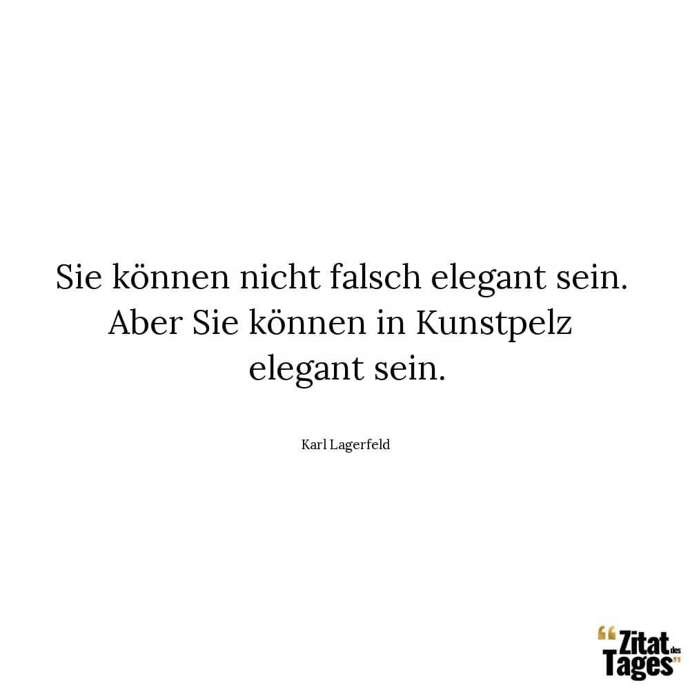 Karl Lagerfeld Zitate Und Sprüche Zitat Des Tages
